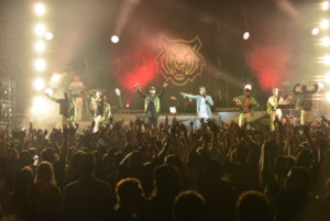 J Balvin with Special Guest Becky G performs at James L Knight Center