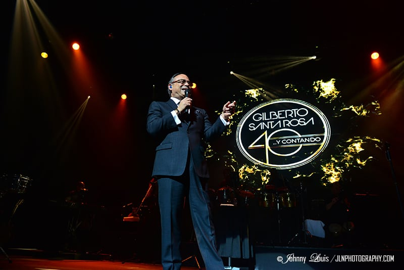 Gilberto Santa Rosa In Concert at James L Knight Center