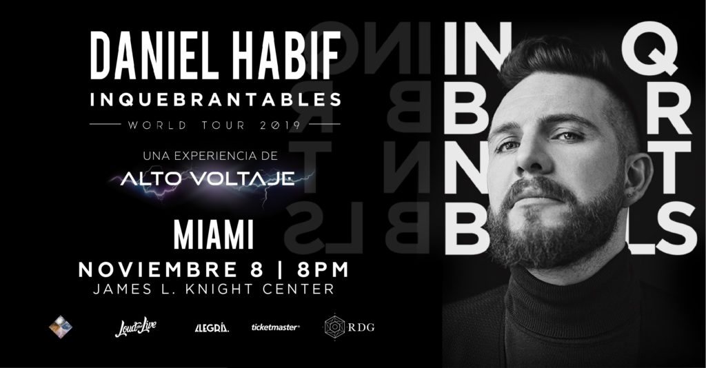 POSTER ALTOVOLT Miami Cover 1024x534 - Daniel Habif: Inquebrantables World Tour 2019