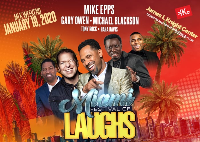 Miami Festival of Laughs James L. Knight Center 700 x 500 JLKC Website 1 - Miami Festival of Laughs